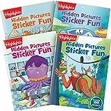 Highlights Hidden Pictures Sticker Fun 4-Book Set