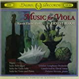 Music for Viola By Ernest Bloch
