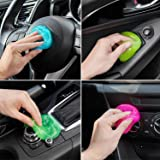 4 Pack Cleaning Gel Universal Dust Cleaner for PC Keyboard Cleaning Car Detailing Laptop Dusting Home and Office Electronics