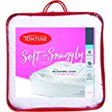 Tontine T6150 Soft and Snuggly Mattress Topper, Queen