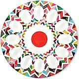 """French Bull 12"""" Egg Tray - Melamine Dinnerware - Platter, Dish, Serving, Deviled, Easter - Ziggy"""