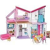 Barbie Malibu Barbie House Playset (Multicolor)