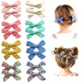 Baby Girls Hair Bow Clips Barrettes, Hair Alligator Clips for Toddlers, Little Girls, School Girls