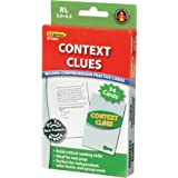 """Edupress EP-3404 Context Clues Practice Cards, Level: 5.0 to 6.5, 0.75"""" Height, 3.79"""" Wide, 6.5"""" Length (52 Card per Package)"""