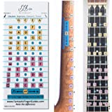 Fantastic Finger Guide for Ukulele - Music Accessories, Fretboard and Fingerboard Stickers for Learning Notes, Learn to Play