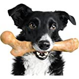 Pet Qwerks Boar BarkBone Pork Chop Flavor Chew Toy - For Aggressive Chewers, Tough Durable Extreme Power Chew Toy, Indestruct