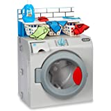 Little Tikes First Washer Dryer - Realistic Pretend Play Appliance for Kids, Interactive Toy Washing Machine with 11 Laundry