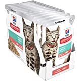 Hill'S Salmon Wet Cat Food Pouches 12 Pack, 12 Count 1.02 Kilograms