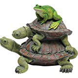 Design Toscano QM221531 ! in Good Company, Frog and Turtles Statue
