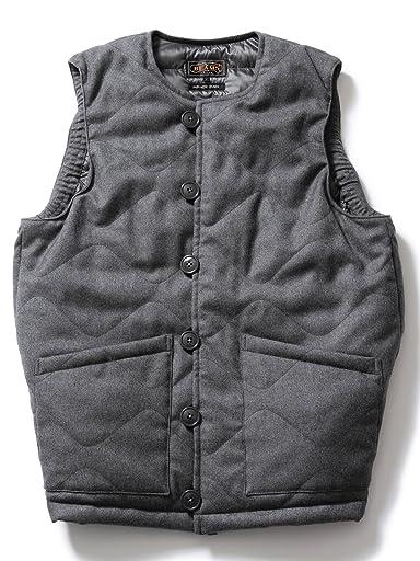 Wool M-43 Liner Vest 11-06-0260-120: Grey