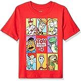 Marvel Boys Boys Toy Story 4 Group Box T-Shirt Short Sleeve T-Shirt - red