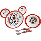 The First Years Disney Baby Mickey Mouse Feeding Set, 4ct