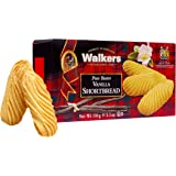 Walkers Shortbread Vanilla Shortbread Cookies, 5.3 Ounce Box (Pack of 4)