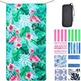 NewLyfe Sand Free Beach Towel - Quick Dry, 180x90cm Extra Large Yet Ultra Compact and Lightweight Microfibre Towel for Travel