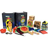 Melissa & Doug 1170 Deluxe Solid-Wood Magic Set with 10 Classic Tricks