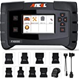 ANCEL FX6000 All System OBD2 Diagnostic Scan Tool with 11 OBD Connectors Automotive Code Scanner for Check Engine ABS SRS Tra