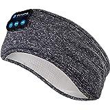 Sleep Headphones Wireless, Perytong Bluetooth Sports Headband Headphones with Ultra-Thin HD Stereo Speakers Perfect for Sleep