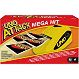UNO: Attack Mega Hit Card Game with Card Shooter, Great for Kid, Adult or Family Game Night, 7 Years and Older [Amazon Exclus