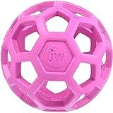 JW Pet Company 犬用おもちゃ ホーリーローラーボール ピンク S サイズ