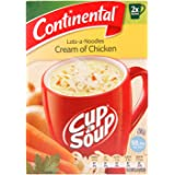 CONTINENTAL Cup-A-Soup | Creamy Chicken With Lots Of Noodles, 2 pack, 60g