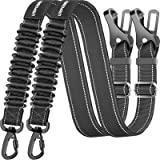 URPOWER Upgraded Dog Seat Belt 3-in-1 Dog Car Seatbelts 2 Pack Adjustable Pet Seat Belt for Vehicle Nylon Pet Safety Seat Bel