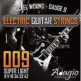 Adagio Professional Electric Guitar String Set 9-42