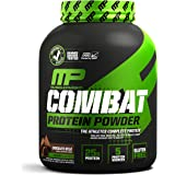 MusclePharm Combat Protein Powder - Essential blend of Whey, Isolate, Casein and Egg Protein with BCAA's and Glutamine for Re