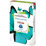 Hammermill Premium Laser Print 24lb Copy Paper, 8.5x14, 1 Ream, 500 Sheets, Made in USA, Sustainably Sourced from American Fa