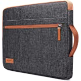 """KIZUNA Laptop Sleeve 11 Inch Water-Resistant Computer Case Hand Bag for 12.3"""" Microsoft Surface Pro 7 6/New 12"""" MacBook/12.9"""""""
