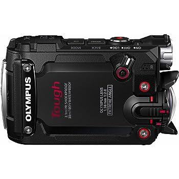 OLYMPUS アクションカメラ STYLUS TG-Tracker ブラック 防水性能30m 耐衝撃2.1m 耐荷重100kgf 防塵 耐低温-10℃