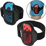 Highway For Joy-Con ハンドル Ring Fit Adventure レッグバンド 子供用+大人用 弾力性 サイズ調整可能 Nintendo Switch リングフィット アドベンチャー 対応 コントローラー グリップ Just-D