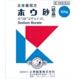 【第3類医薬品】ホウ砂(結晶) 500g