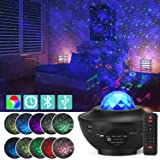 Star Projector Night Light, Adjustable Starry Projector with 21 Lighting Modes with Remote control& Built-in Music Player Oce