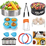 3 Qt Accessories Set for Instant Pot, Compatible with InstaPot Accessories 3 Quart Only, Mini Accessory Including Sealing Rin