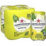 San Pellegrino Pompelmo Can, 330ml, (Pack of 4)