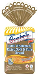 Gardenia Soft Wholemeal Bread 100%, 400g