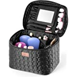 DRQ Large Makeup Travel Bag Printed Multifunction Portable Cosmetic Makeup Pouch Case Organizer for Women Makeup,Beauty Colle