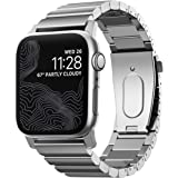 Nomad - Watch Strap - Steel Band - Compatible with Apple Watch 42/44mm - Silver Hardware