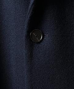 Melton Chesterfield Coat 1225-139-7333: Royal
