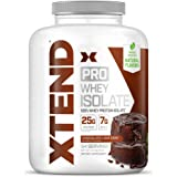 Scivation XTEND Pro Protein Powder | 100% Whey Protein Isolate | Keto Friendly + 7g BCAAs with Natural Flavors | Gluten Free