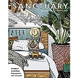 Sanctuary: Living Spaces Coloring Book