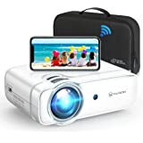 """VANKYO Leisure 430W Pro WiFi Mini Projector [2021 Upgraded], HD 1080P and 236"""" Supported, Portable Wireless Mirroring Project"""