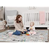 Regalo Sensory & Learning My Play Mat, Foldable & Reversable, Waterproof, Bonus Kit, Includes Travel Case with Carry Strap, G