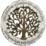 MyGift Life Family Tree Style Garden Resin Stepping Stone/Wall Mounted Art Decor