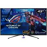 ASUS ROG STRIX XG438Q 43-inch, 4K (3840 x 2160) HDR Large Gaming Monitor, 120 Hz, FreeSync 2 HDR, DisplayHDR 600, DCI-P3 90 p