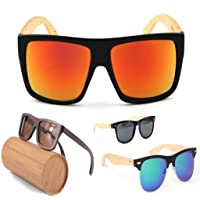 Zoom Wooden Sun Glasses