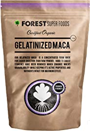 Forest Super Foods Certified Organic Gelatinized Maca Powder 250g (60 day supply)