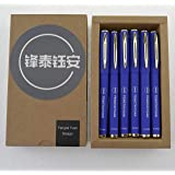 Fengtaiyuan B07P18AU, Gel Pens, Blue Ink, Writting Smooth, Comfortable Pens, 18 Pack (Blue-0.7mm)