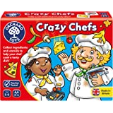 Orchard Toys Crazy Chefs Children's Game, Multi, One Size