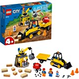 LEGO City Construction Bulldozer 60252 Toy Construction Set, Cool Building Set for Kids